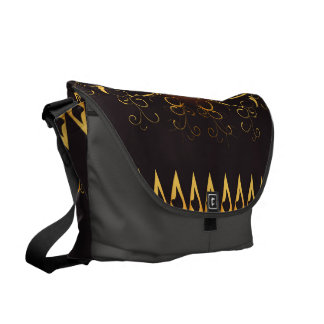 Golden key notes courier bags