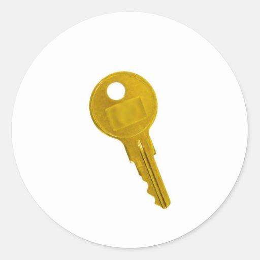 golden key stickers