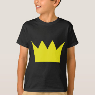 Golden King Crown T-Shirt