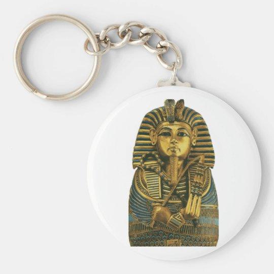 Golden King Tut Keychain