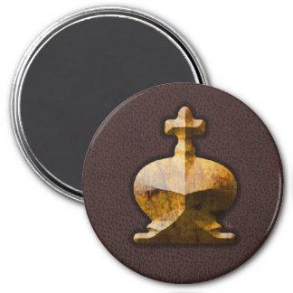 Golden King - Zero Gravity Chess (SLG) Magnet