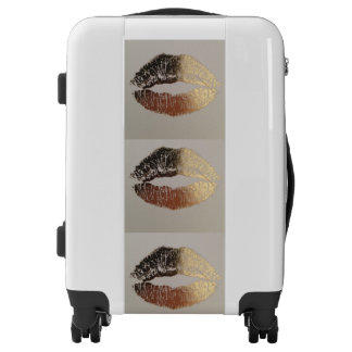 Golden kiss luggage