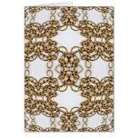 Golden Knotwork Kaleidoscope Mandala