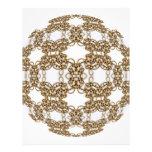 Golden Knotwork Kaleidoscope Mandala Flyer