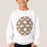 Golden Knotwork Kaleidoscope Mandala Sweatshirt