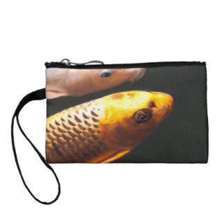 Golden Koi Fish Coin Purse