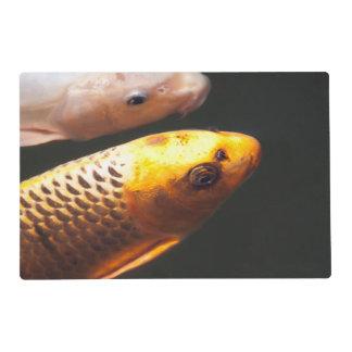 Golden Koi Fish Placemat