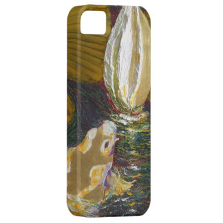 Golden Koi in Lily Pond iPhone 5 Case