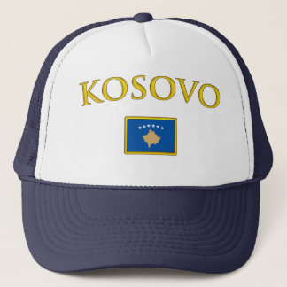 Golden Kosovo Trucker Hat