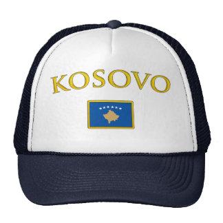 Golden Kosovo Trucker Hat