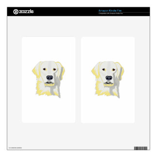 Golden Lab Kindle Fire Decals