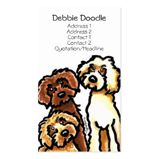 Golden Labradoodles Pet Business Cards