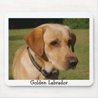 Golden Labrador Mouse Pad
