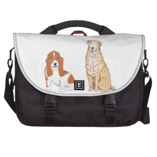 Golden Labrador products, customize Commuter Bags
