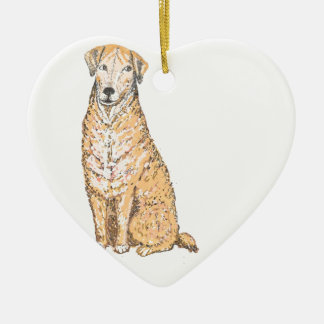 Golden Labrador products, customize Christmas Tree Ornaments
