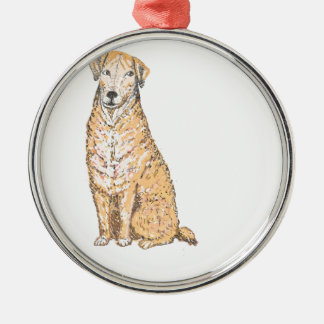 Golden Labrador products, customize Christmas Ornament