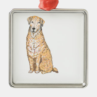 Golden Labrador products, customize Christmas Tree Ornament
