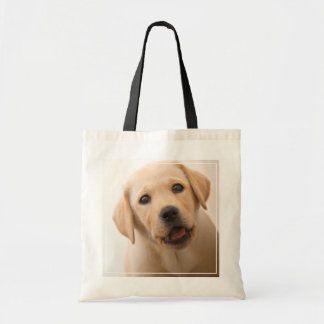 Golden Labrador Puppy (8 Months Old) Tote Bag