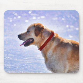 Golden Labrador Retriever Dog-lover Gift Mouse Pad