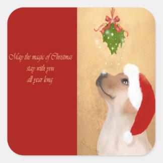 Golden Labrador Retriever, Dog Sticker