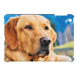 Golden Labrador Retriever iPad Mini Cover