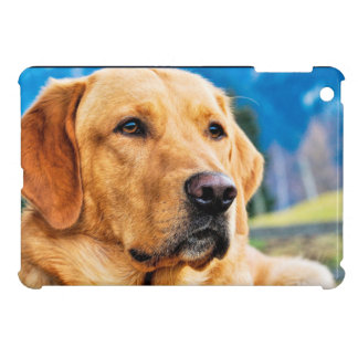 Golden Labrador Retriever iPad Mini Cover