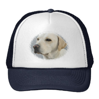 Golden Labrador Retriever Photograph Trucker Hat