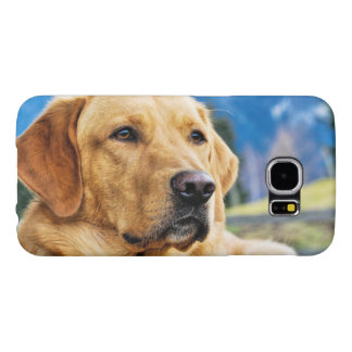 Golden Labrador Retriever Samsung Galaxy S6 Case