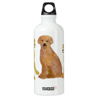 Golden Labrador Retrivers Water Bottle