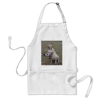 Golden Labs W/Duck Adult Apron