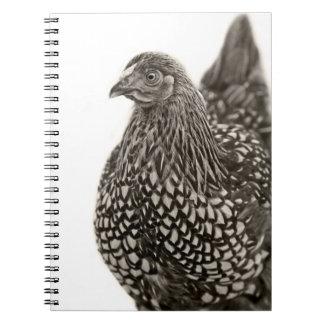 Golden Laced Wyandotte Chicken Spiral Notebook