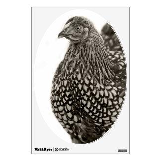 Golden Laced Wyandotte Chicken Wall Sticker