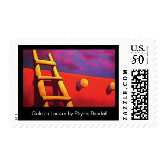 Golden Ladder by Phyllis Randall Postage