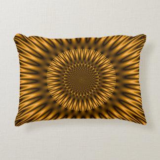 Golden Lagoon Accent Pillow
