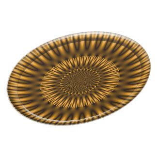 Golden Lagoon Dinner Plate
