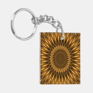 Golden Lagoon Keychain