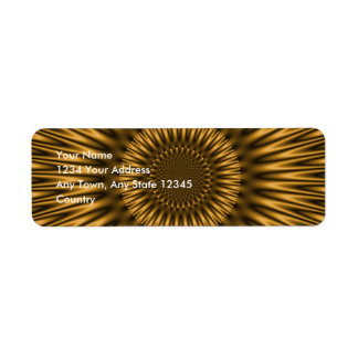 Golden Lagoon Label