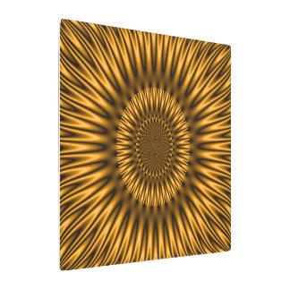 Golden Lagoon Metal Print