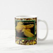 Golden Lancehead is an endangered snake - Coffee Mug