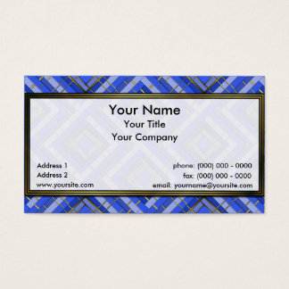 Golden Lattice 3-4-3 Sm Any Color Business Card