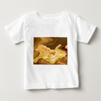 Golden Leaf -  Gold Color Therapy Art Baby T-Shirt