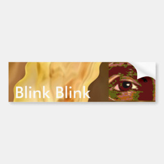 Golden Leaf -  Gold Color Therapy Art Bumper Sticker