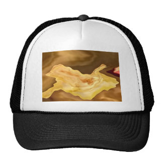 Golden Leaf -  Gold Color Therapy Art Trucker Hat