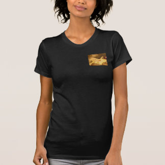 Golden Leaf -  Gold Color Therapy Art T Shirt