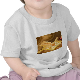 Golden Leaf -  Gold Color Therapy Art Tee Shirts