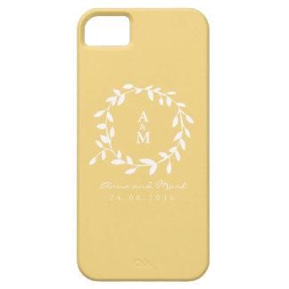Golden Leaf Iphone 5 Case