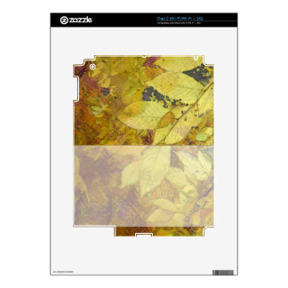 Golden Leaf Light iPad 2 Skins