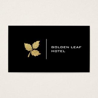 Golden Leaf | Luxury Business Card