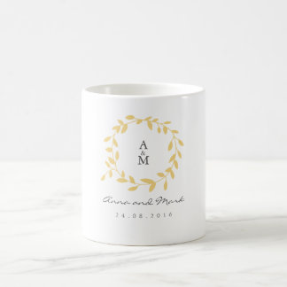 Golden Leaf Mug