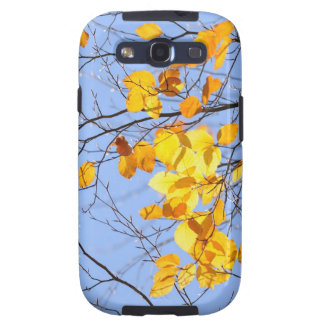 golden leaves galaxy s3 covers